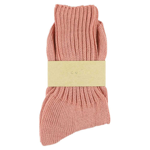 Women Crew Socks - Pink