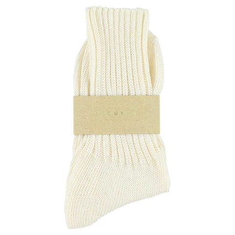 Women Crew Socks - Off White