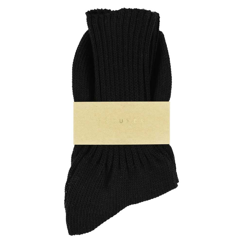 Women Crew Socks - Black