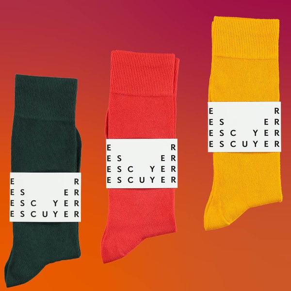 Casual Color Socks Gift Pack - Escuyer