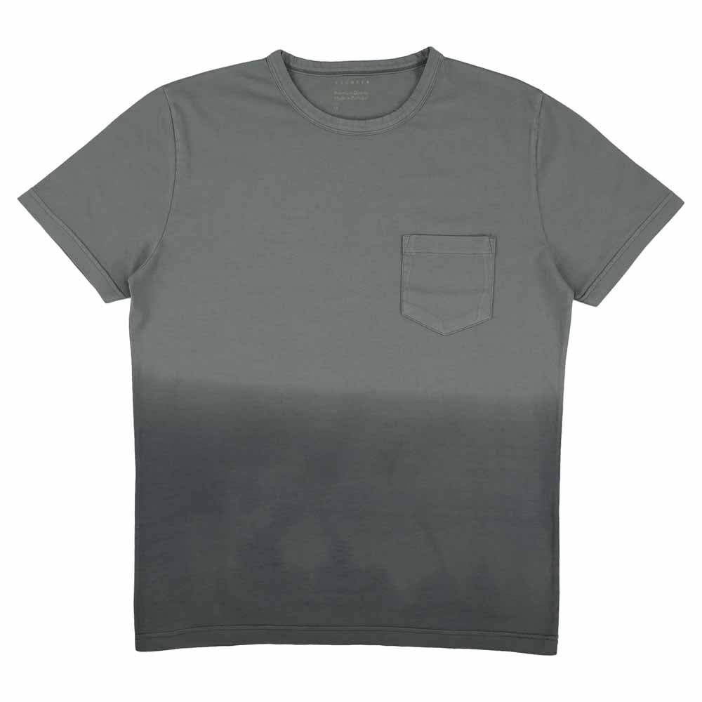 Dégradé Pocket T-Shirt - Grey