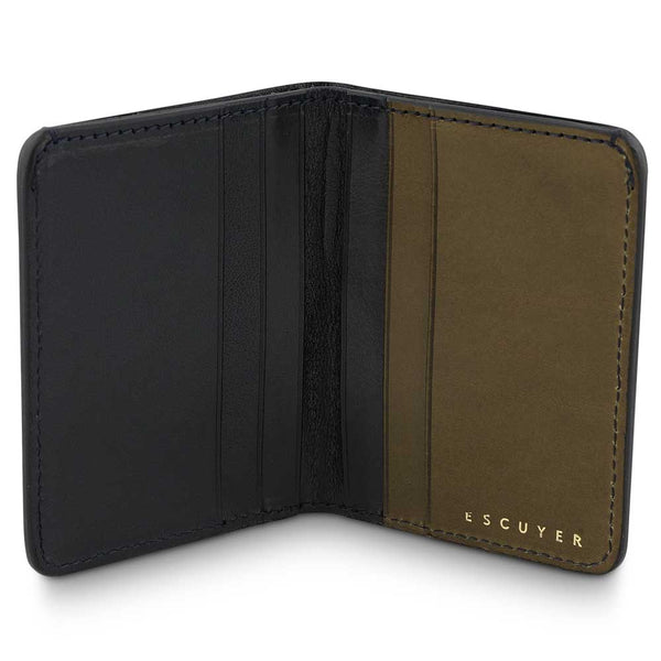 Slim Wallet - Blue / Khaki