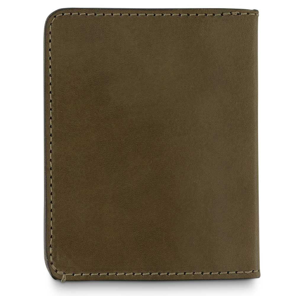 Slim Wallet - Khaki / Orange