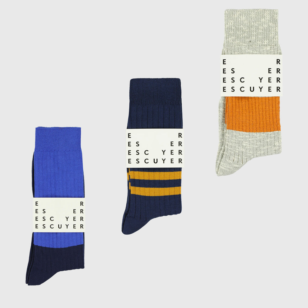Surprise Socks Subscription Pack - Escuyer