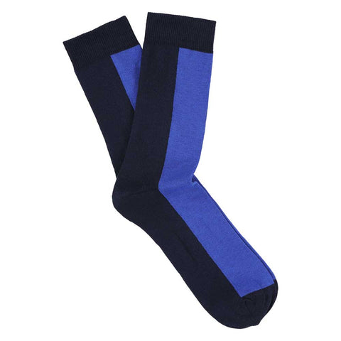 Women Chess Socks - Eclipse / Dazzling Blue