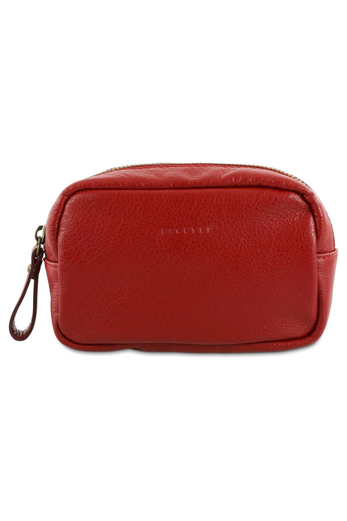 Travel Case Small - Burgundy - Escuyer