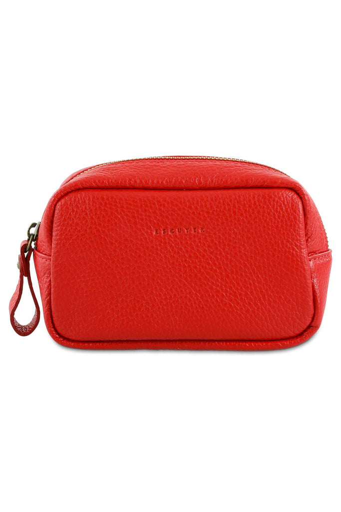 Travel Case Small - Red - Escuyer