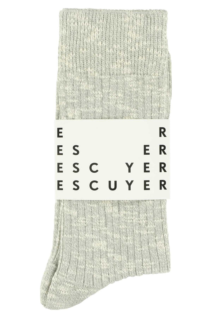 Melange socks - Grey - Escuyer