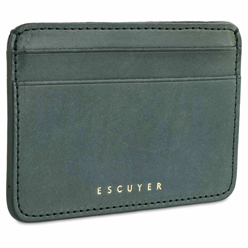 Cardholder - Green - Escuyer
