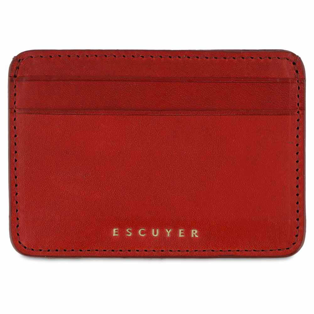 Cardholder - Red - Escuyer