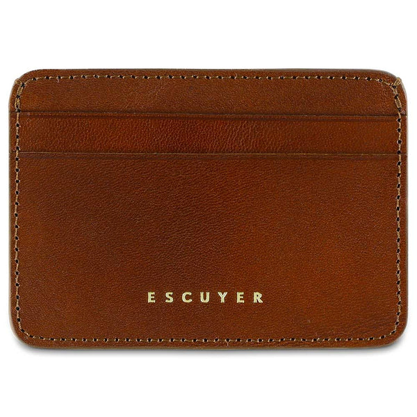 Cardholder - Light Brown - Escuyer