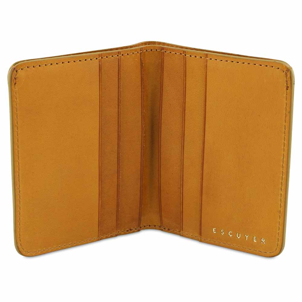 Slim Wallet - Mustard - Escuyer
