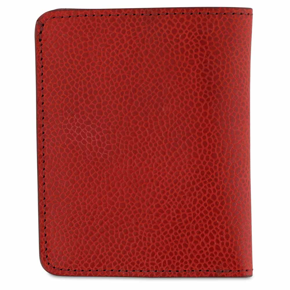 Slim Wallet - Grained Red - Escuyer