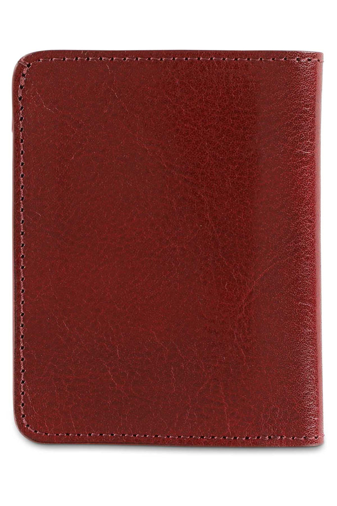 Slim Wallet - Burgundy - Escuyer