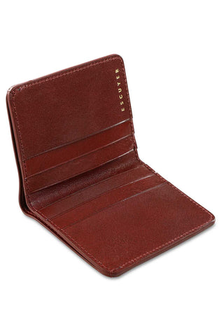 Slim Wallet - Burgundy