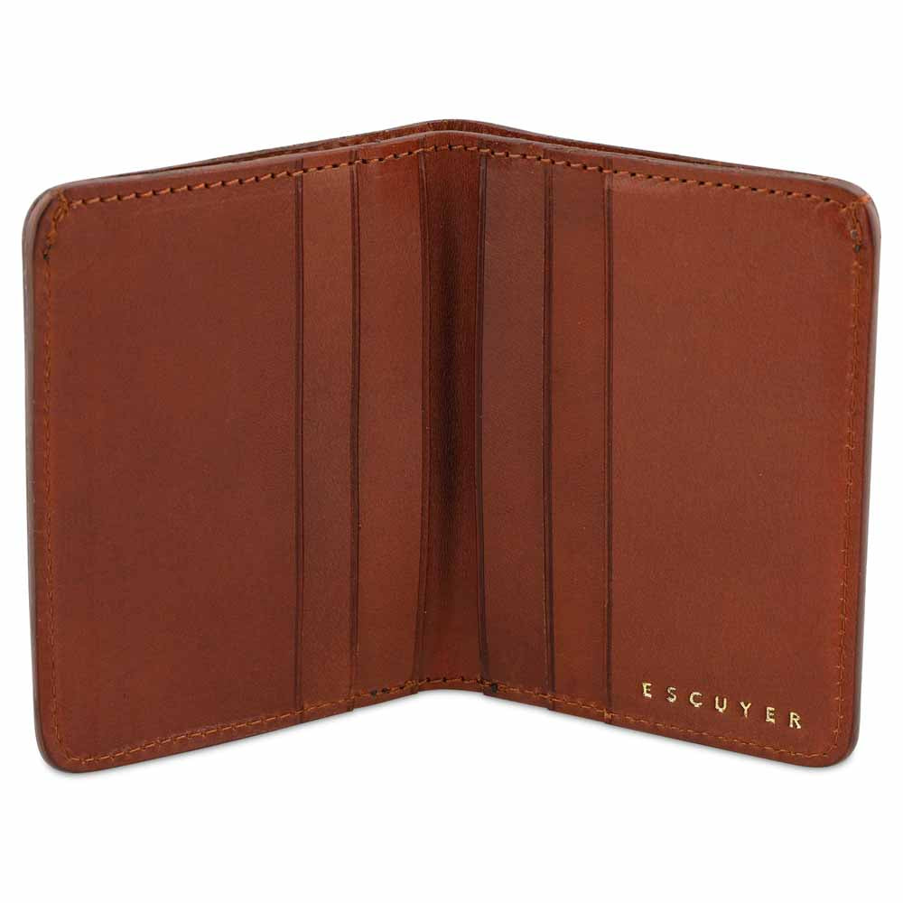 Slim Wallet - Cognac - Escuyer