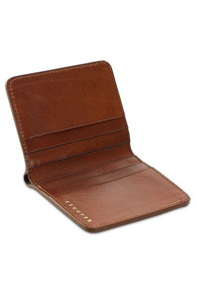 Slim Wallet - Light Brown - Escuyer
