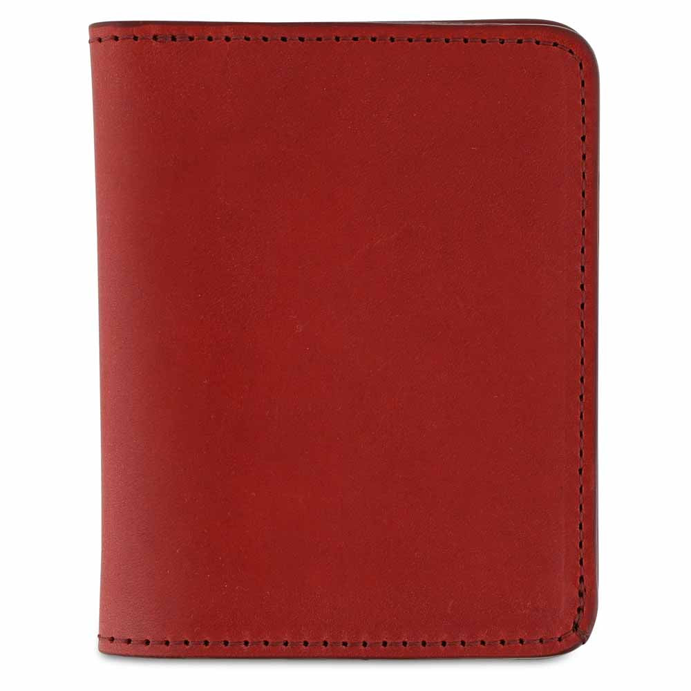 Slim Wallet - Red - Escuyer