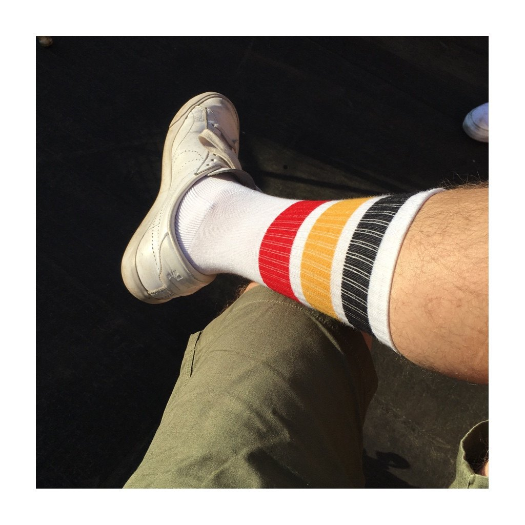 Unisex Tube Socks - Belgium Flag Socks - Escuyer