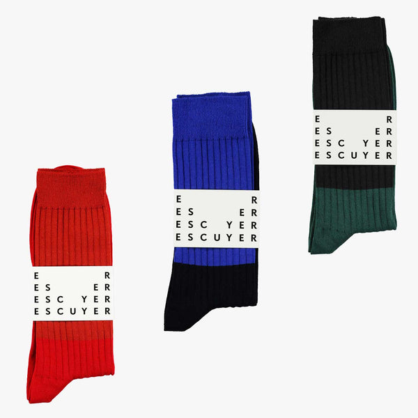 Surprise Colour Block Socks Subscription Pack
