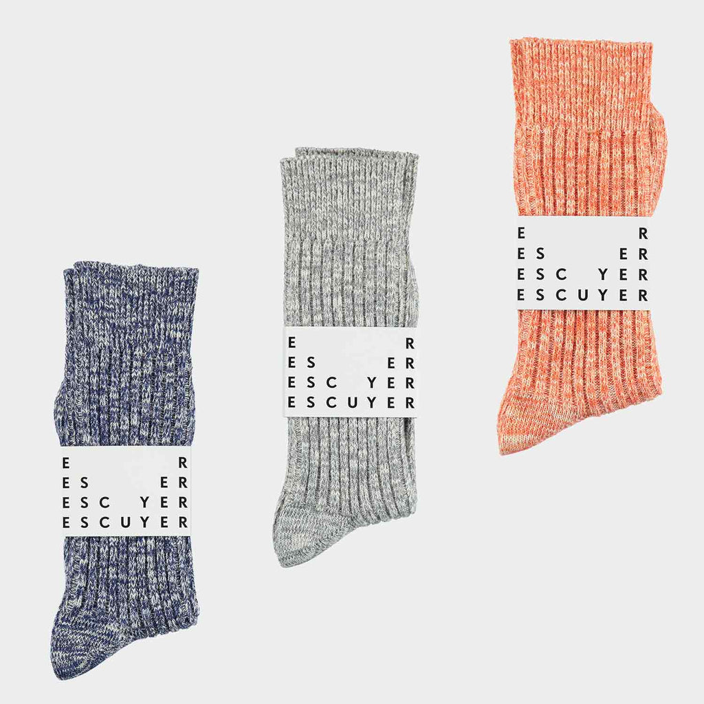 Surprise Melange Socks Subscription Pack - Escuyer