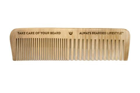 Always Bearded - Beard Comb