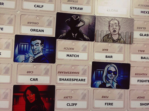Codenames - Quiche Games