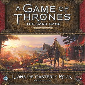 A Game of Thrones: The Card Game (Second Edition) – Lions of Casterly Rock - Quiche Games