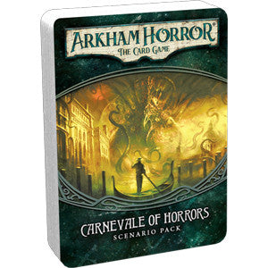 Arkham Horror: The Card Game – Carnevale of Horrors: Scenario Pack - Quiche Games