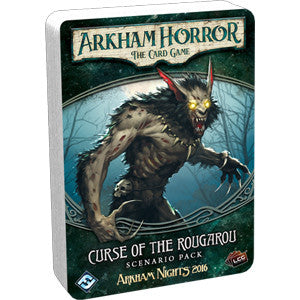 Arkham Horror: The Card Game – Curse of the Rougarou – Scenario Pack - Quiche Games