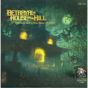 Betrayal at House on the Hill - Quiche Games