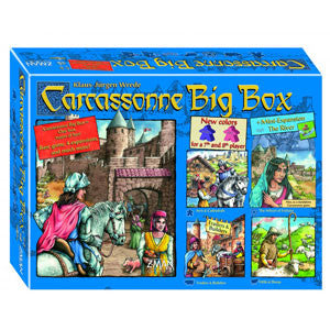Carcassonne Big Box 5 (2014) - Quiche Games