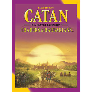 Catan: Traders & Barbarians – 5-6 Player Extension - Quiche Games