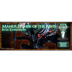 Dark Souls: The Board Game - Manus, Father of the Abyss - Quiche Games