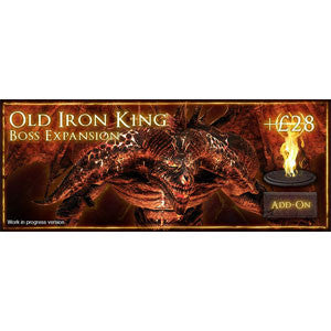 Dark Souls: The Board Game - Old Iron King - Quiche Games