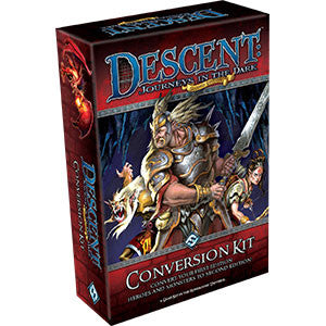 Descent: Journeys in the Dark (Second Edition) – Conversion Kit - Quiche Games