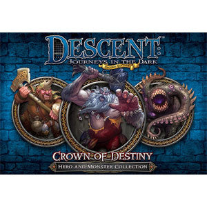 Descent: Journeys in the Dark (Second Edition) – Crown of Destiny - Quiche Games