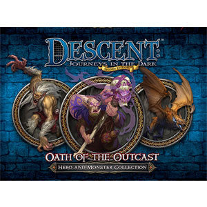 Descent: Journeys in the Dark (Second Edition) – Oath of the Outcast - Quiche Games