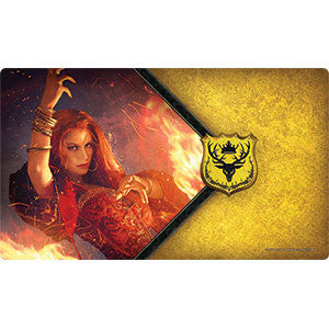 Fantasy Flight Supply - The Red Woman Playmat - Quiche Games