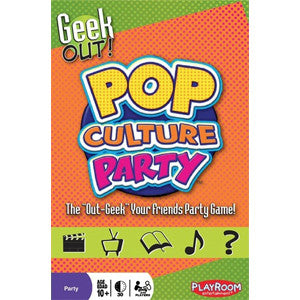 Geek Out! Pop Culture Party - Quiche Games