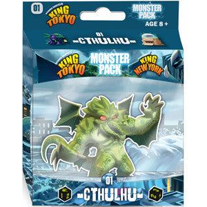 King of Tokyo/New York: Monster Pack – Cthulhu - Quiche Games