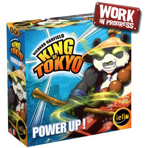 King of Tokyo Power Up! New Edition - Quiche Games