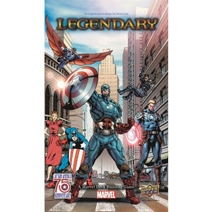 Legendary: A Marvel Deck Building Game - Captain America 75th Anniversary - Quiche Games