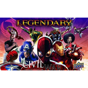 Legendary: A Marvel Deck Building Game - Civil War - Quiche Games