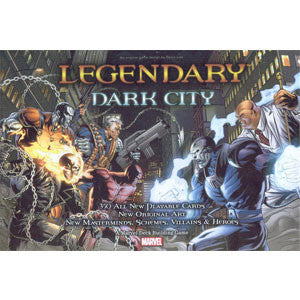 Legendary: A Marvel Deck Building Game - Dark City - Quiche Games