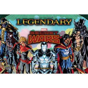 Legendary: A Marvel Deck Building Game - Secret Wars - Quiche Games