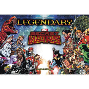 Legendary: A Marvel Deck Building Game - Secret Wars Volume 2 - Quiche Games