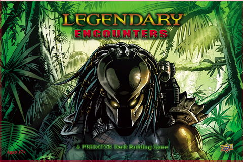 Legendary Encounters: A Predator Deckbuildling Game (Damaged)