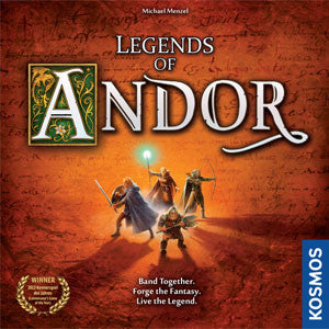 Legends of Andor - Quiche Games