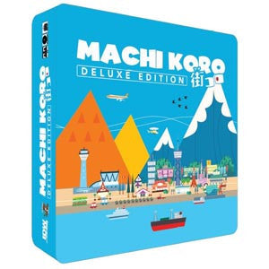 Machi Koro: Deluxe Edition Board Game - Quiche Games